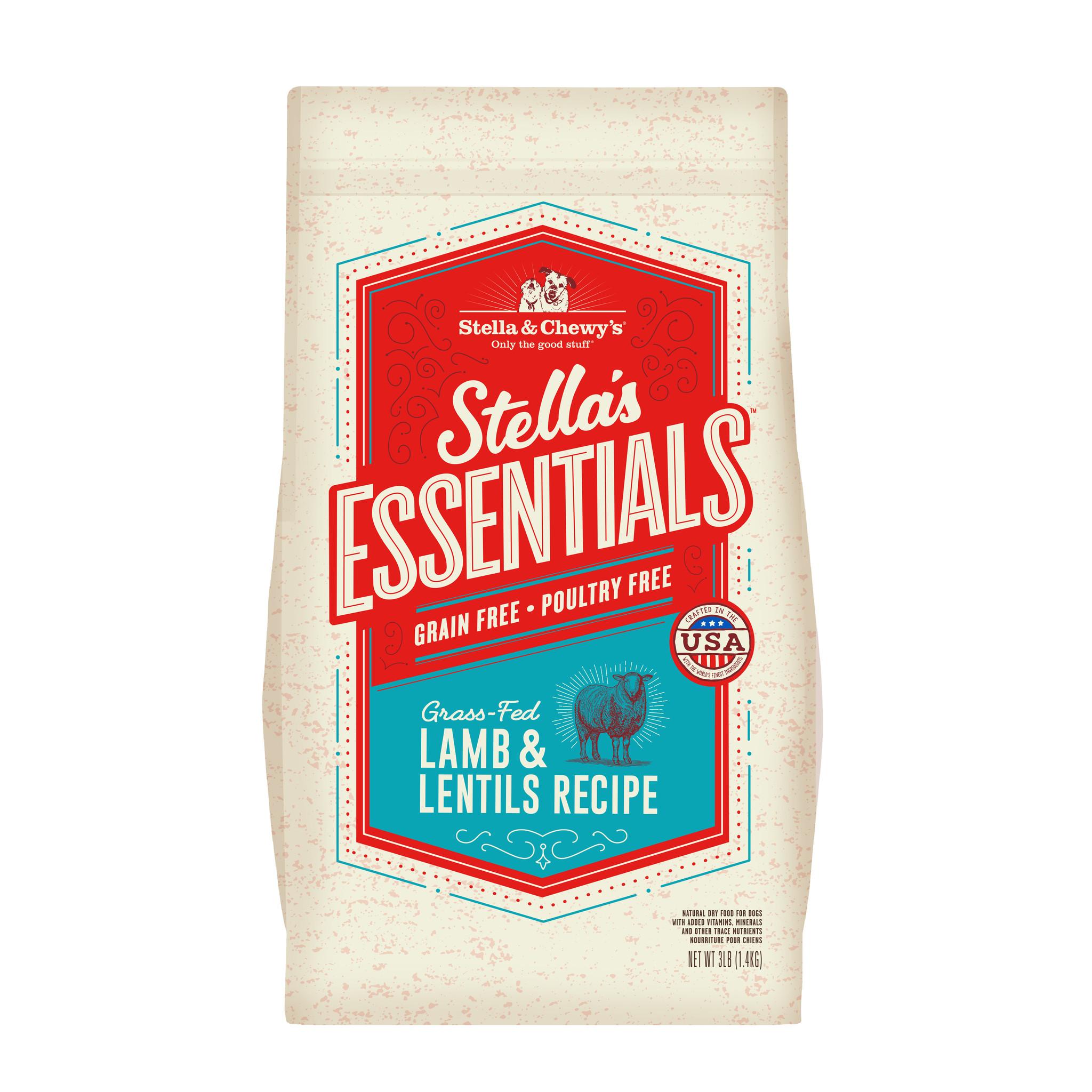 Stella & Chewys Stella & Chewys Stella's Essentials Grain Free Lamb & Lentils Recipe