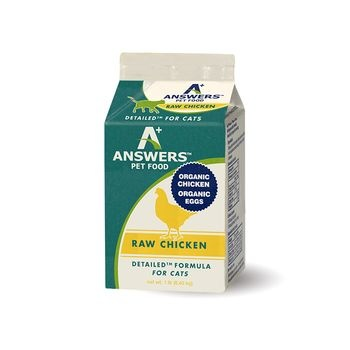Answers Answers Detailed Formula Raw Chicken Cat 1lb