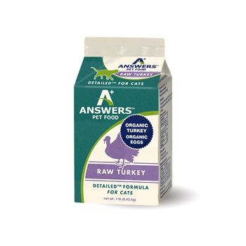 Answers Answers Detailed Formula Raw Turkey Cat 1lb