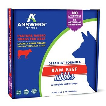 Answers Answers Detailed Formula Raw Beef Nibbles 2.2lb