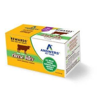 Answers Answers Frozen Raw Cow Milk Cheese Treat Garlic 8 oz