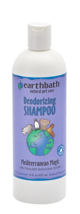 Earthbath Earthbath Deodorizing Shampoo Mediterranean Magic 16oz