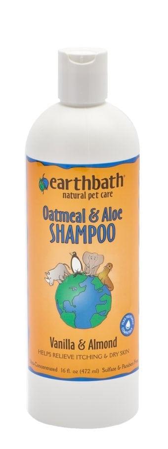 Earthbath Earthbath Oatmeal & Aloe Shampoo Vanilla And Almond 16oz