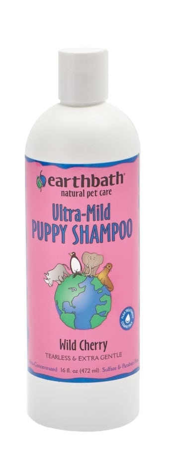 Earthbath Earthbath Ultra-Mild Puppy Shampoo Wild Cherry 16oz