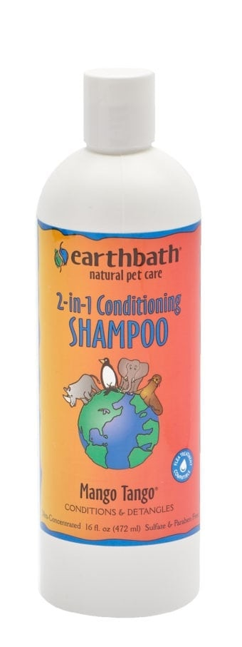 Earthbath Earthbath 2-In-1 Conditioning Shampoo Mango Tango 16oz