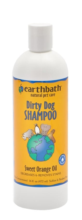 Earthbath Earthbath Dirty Dog Shampoo Sweet Orange Oil 16oz