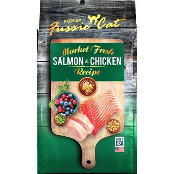 Fussie Cat Fussie Cat Market Fresh Salmon & Chicken Recipe Grain Free