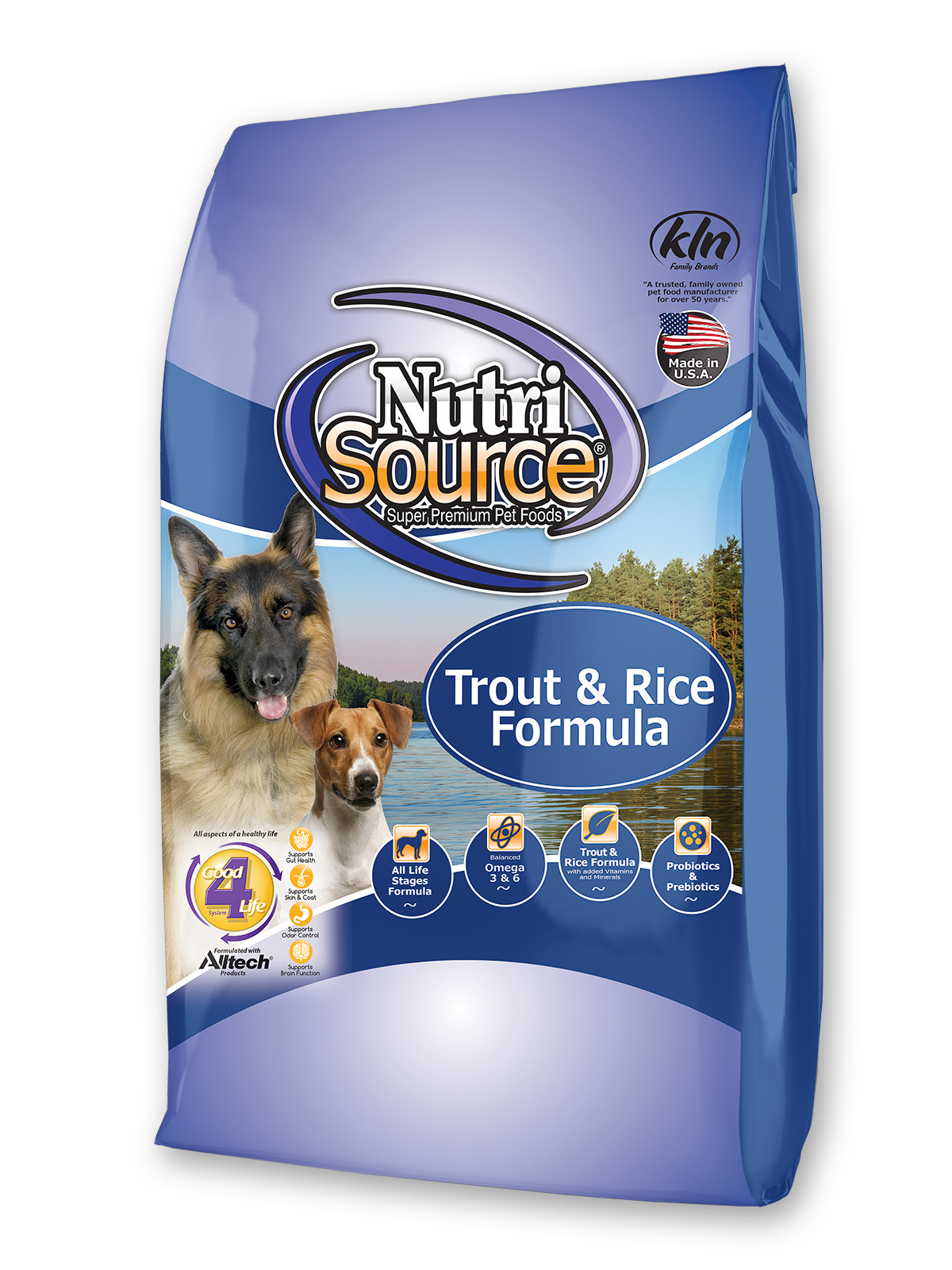 Nutrisource Nutrisource Trout & Rice Formula