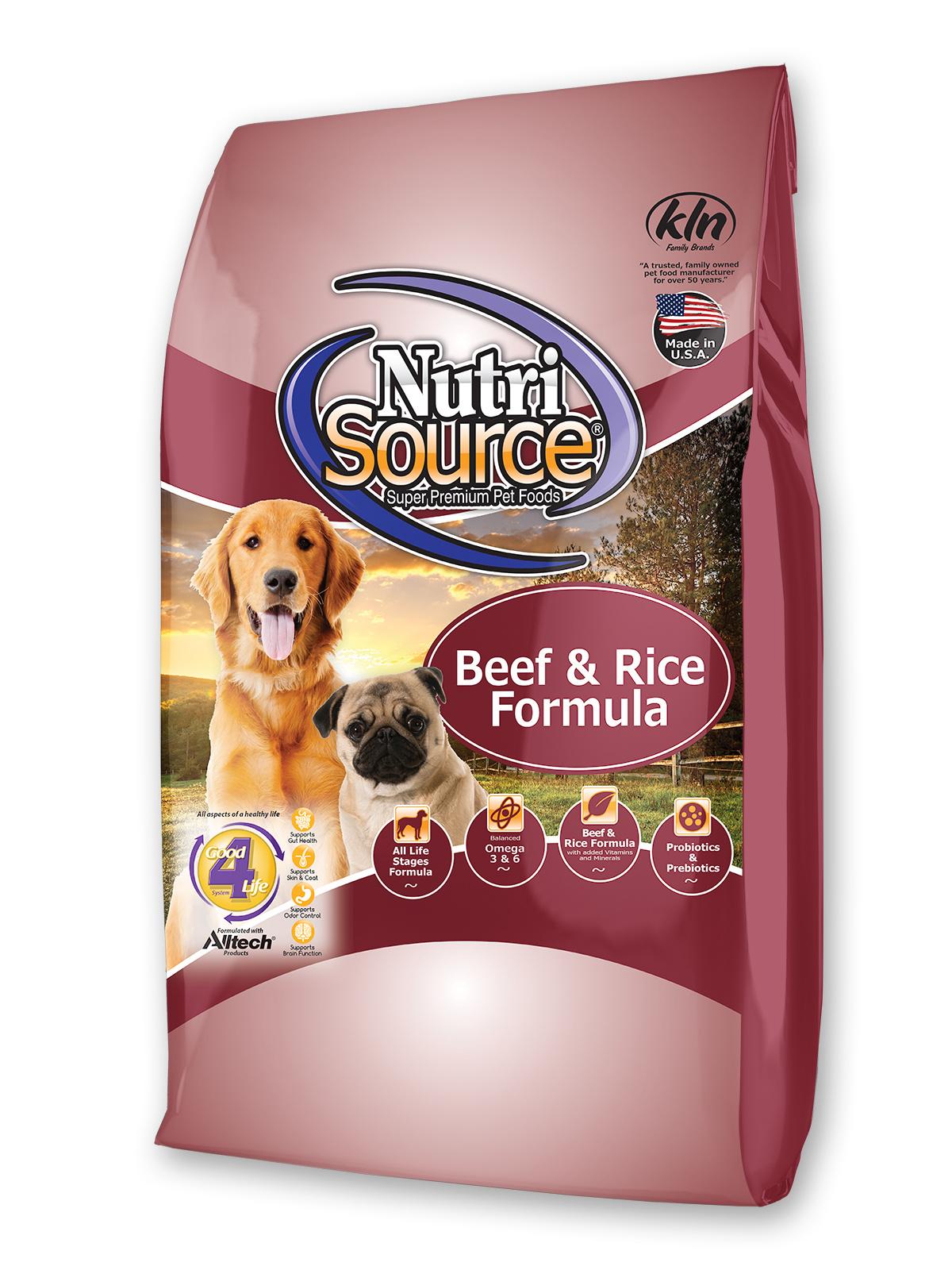 Nutrisource Nutrisource Beef & Rice Formula