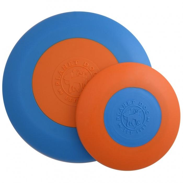 Planet Dog Planet Dog Orbee Tuff Zoom Flyer, Blue/Orange, Large
