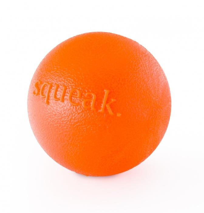 Planet Dog Planet Dog Orbee-Tuff Squeaker Ball, Orange