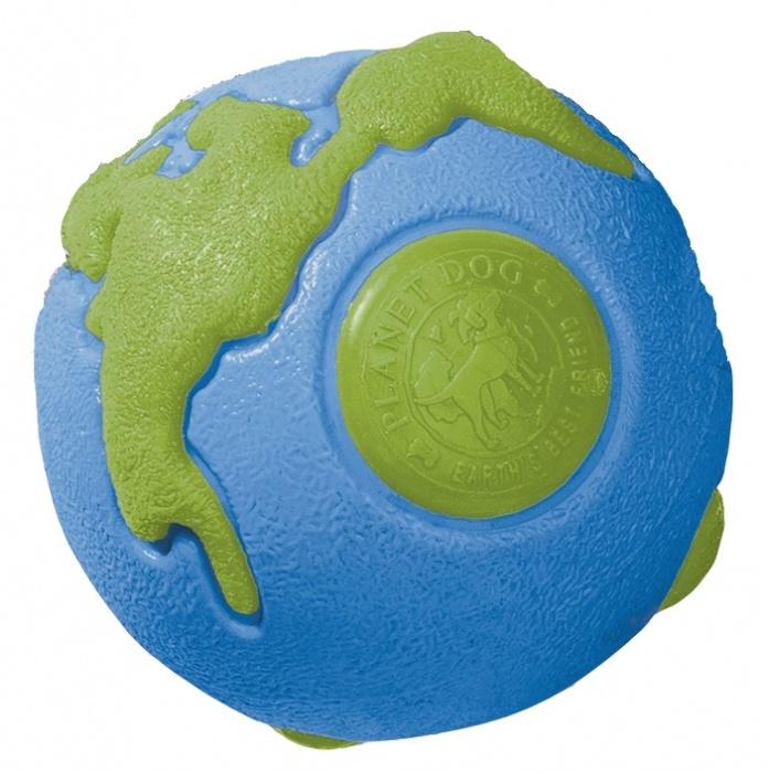 Planet Dog Planet Dog Orbee-Tuff Orbee Ball, Blue/Green, Medium