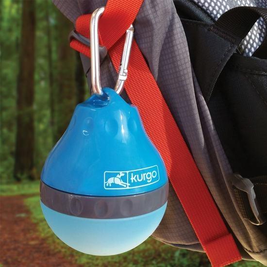 Kurgo Kurgo Palm Water Bottle, Blue