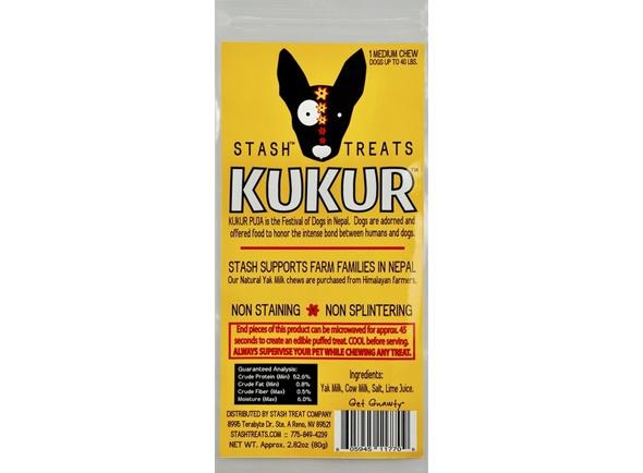 Diggin Your Dog Diggin Your Dog Stash Kukur Natural Himalayan Yak Milk Chew Medium