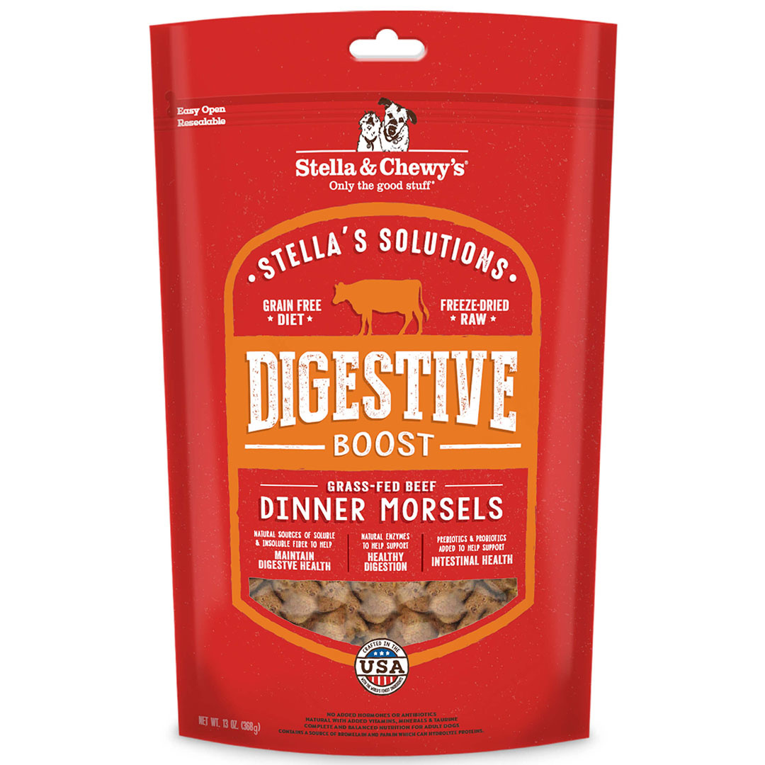 Stella & Chewys Stella & Chewys Stella's Solutions Digestive Boost Freeze Dried Dinner Morsels 13 oz