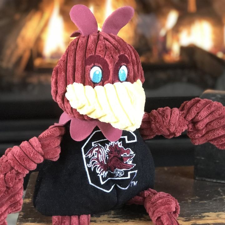 HuggleHounds HuggleHounds Collegiate Mascot South Carolina Cocky Large