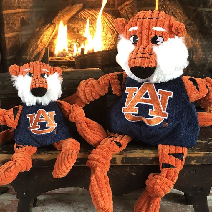 HuggleHounds HuggleHounds Collegiate Mascot Auburn Aubie The Tiger Small