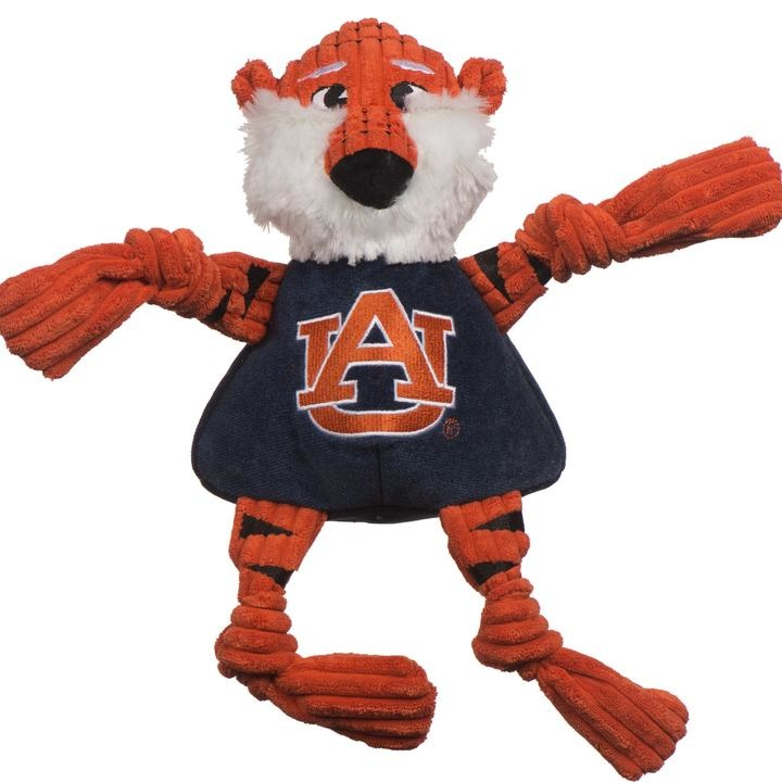 HuggleHounds HuggleHounds Collegiate Mascot Auburn Aubie The Tiger Large