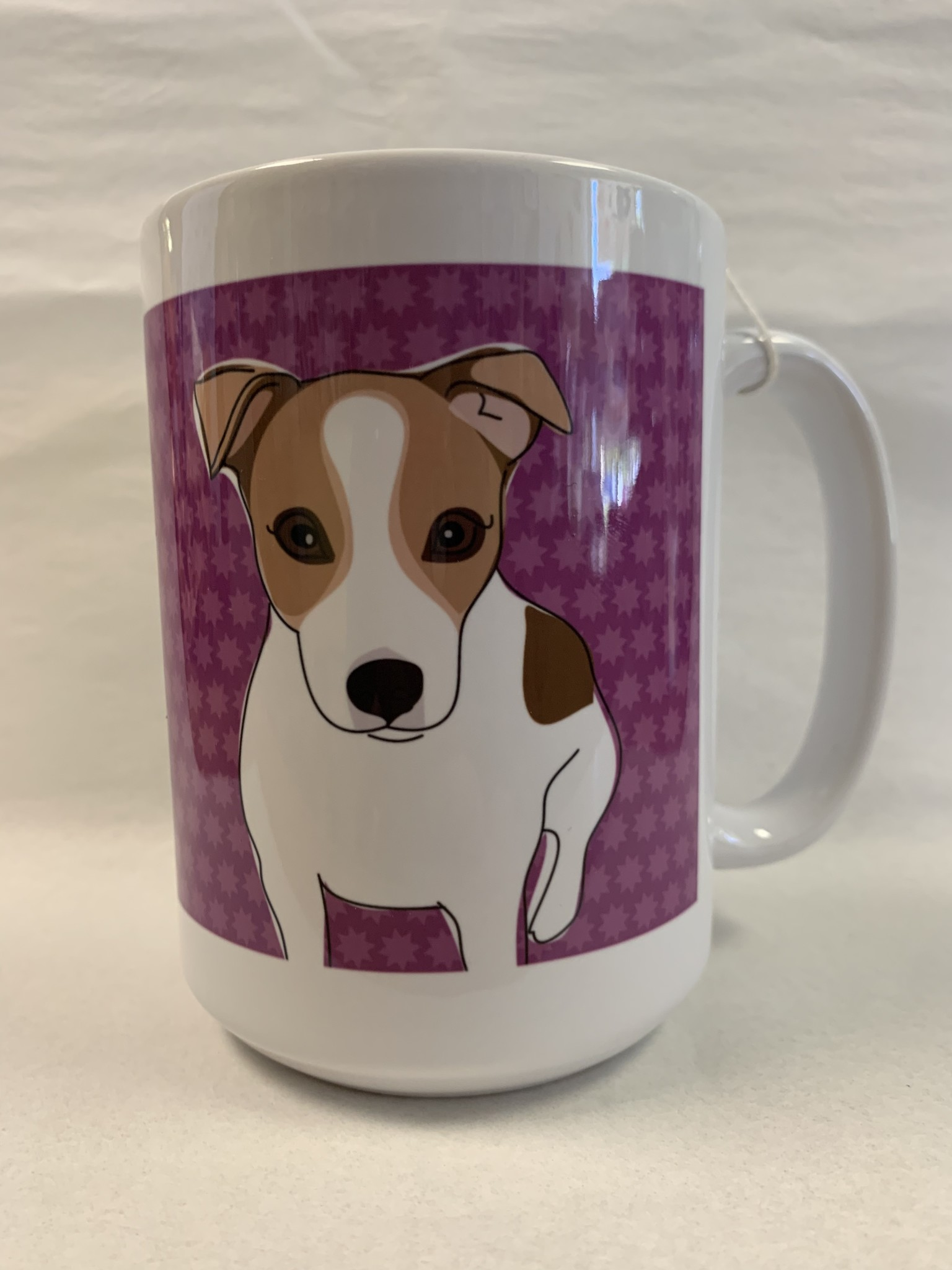 Pop Doggie Pop Doggie Jack Russell Mug, Time To Walk The Dog