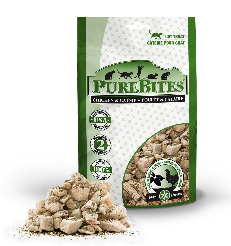 Pure Bites Pure Bites Chicken Breast & Catnip For Cats 1.3oz
