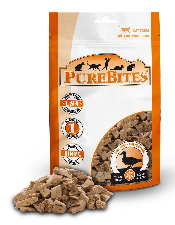 Pure Bites Pure Bites Duck Liver For Cats  .56oz