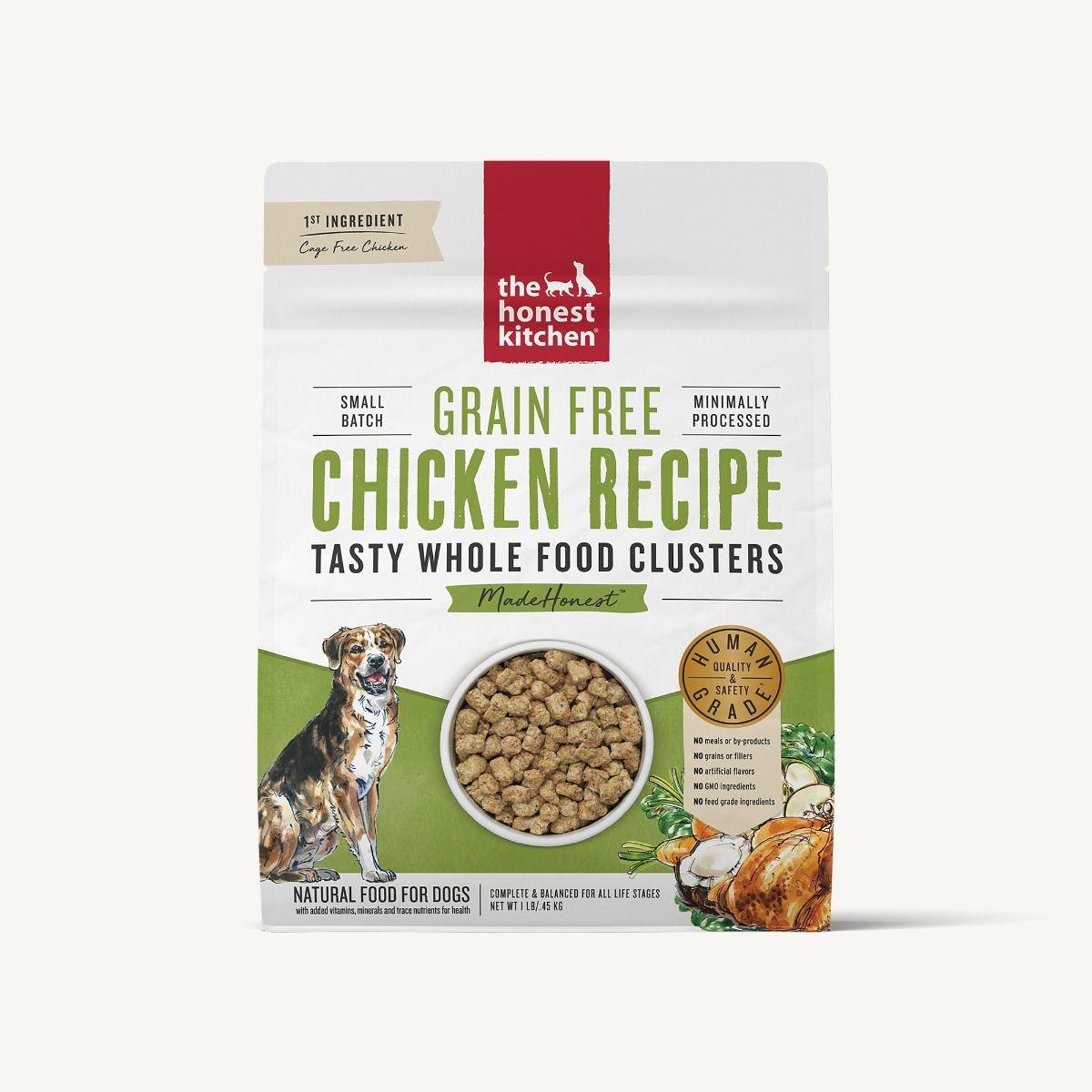 The Honest Kitchen Honest Kitchen Grain Free Chicken Recipe Whole Food Clusters