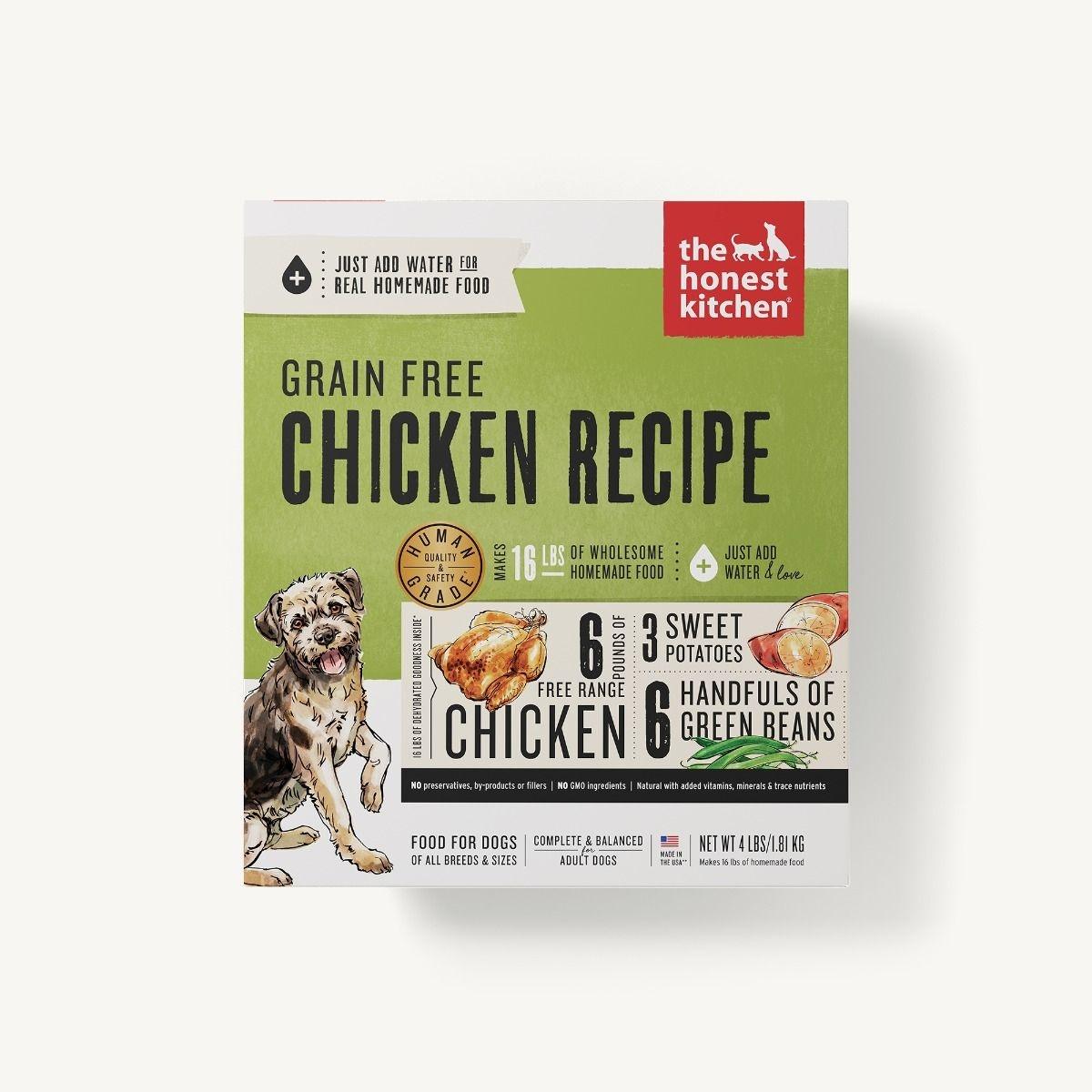 The Honest Kitchen Honest Kitchen Dehydrated Grain Free Chicken Recipe
