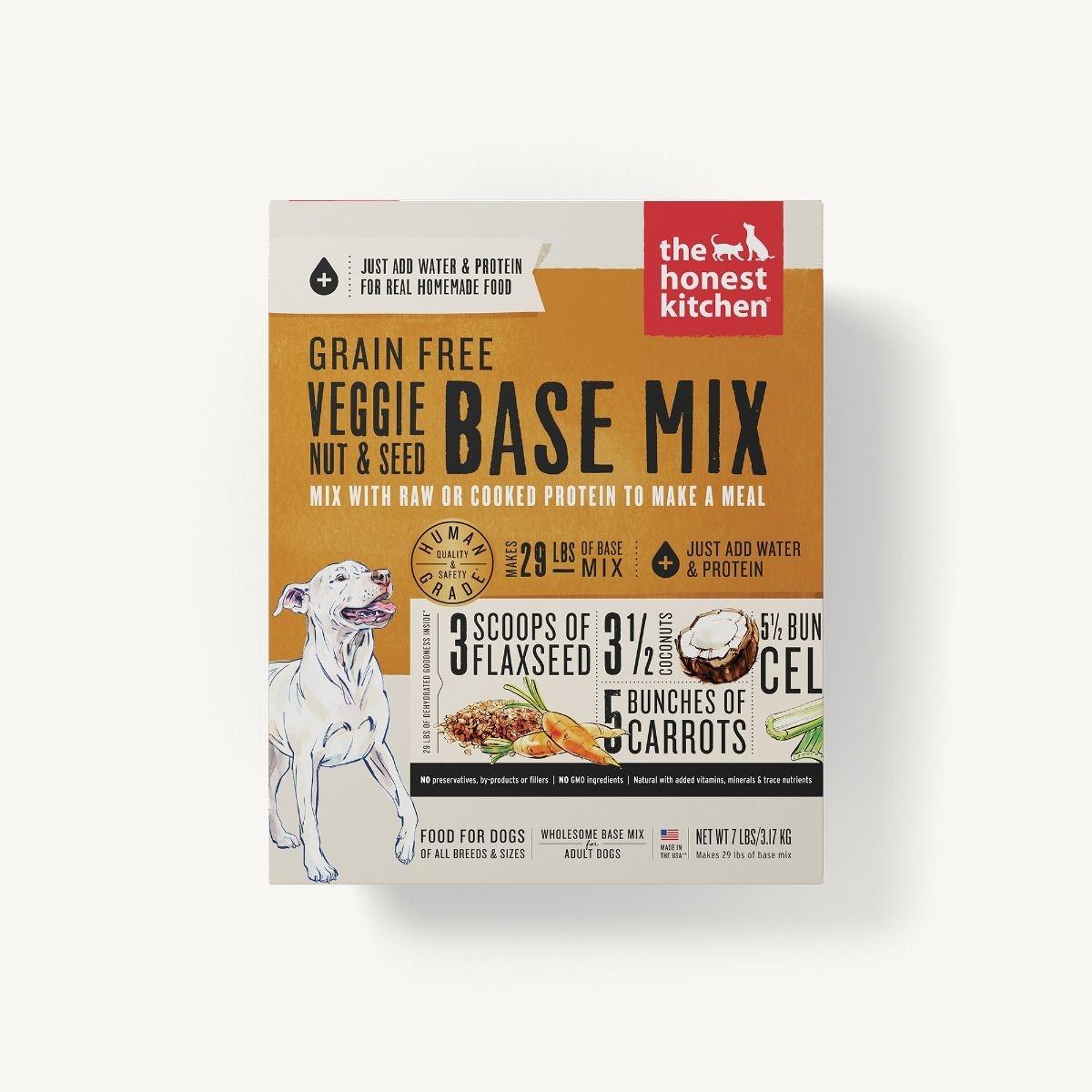The Honest Kitchen Honest Kitchen Dehydrated Grain Free Veggie, Nut & Seed Base Mix