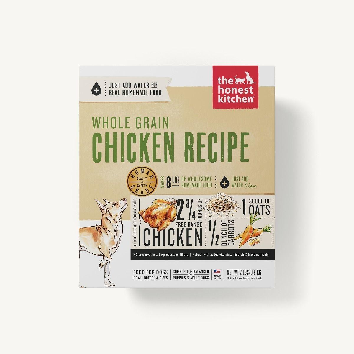 The Honest Kitchen Honest Kitchen Dehydrated Whole Grain Chicken Recipe