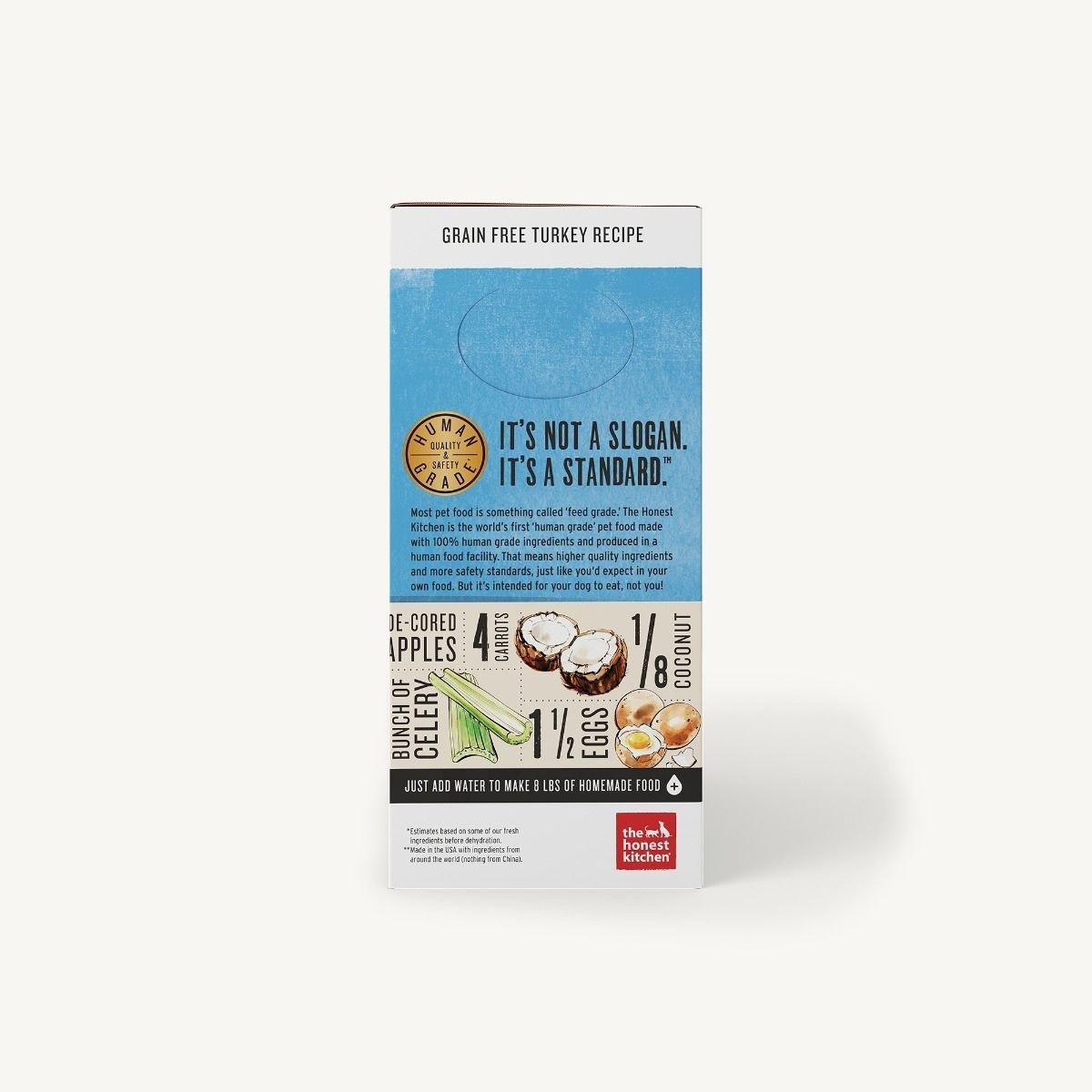 The Honest Kitchen Honest Kitchen Dehydrated Grain Free Turkey Recipe