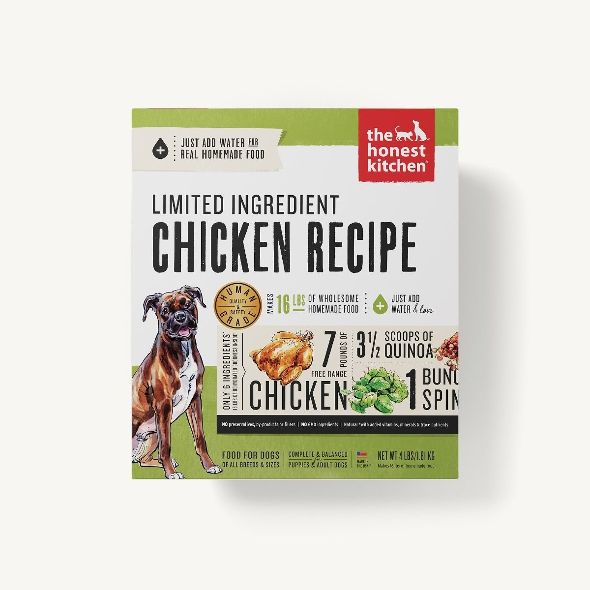 The Honest Kitchen Honest Kitchen Dehydrated Limited Ingredient Chicken Recipe