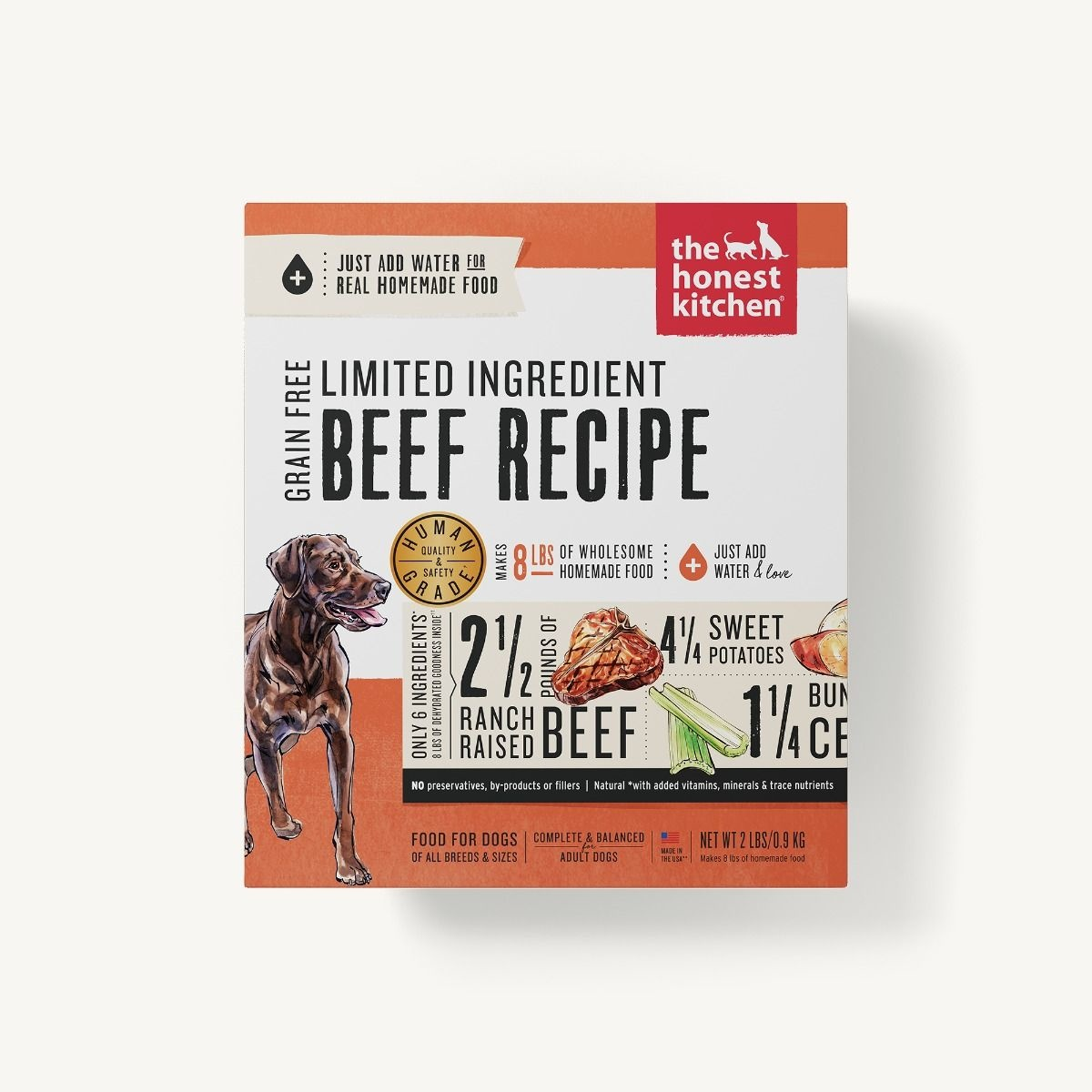 The Honest Kitchen Honest Kitchen Dehydrated Limited Ingredient Beef Recipe