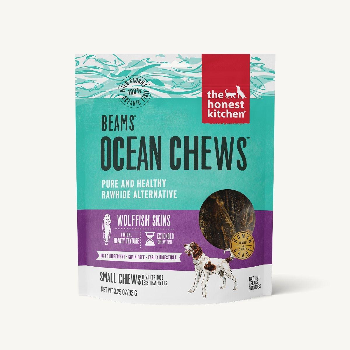 The Honest Kitchen Honest Kitchen Beams Ocean Chews Wolffish Skins
