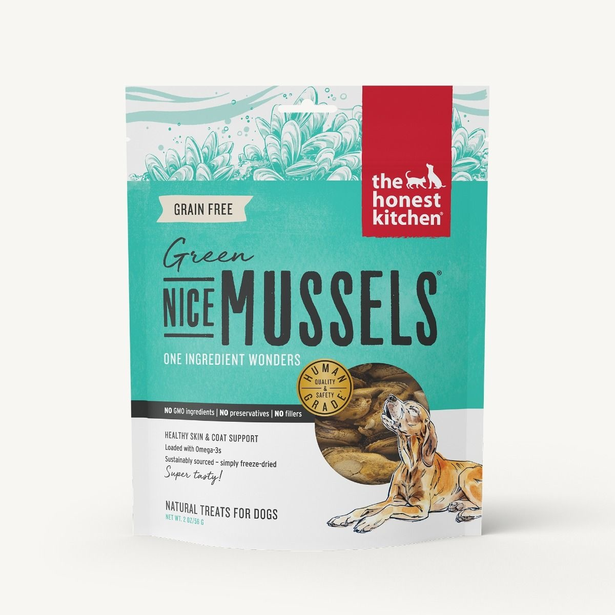 The Honest Kitchen Honest Kitchen Nice Mussels - Green Mussels 2oz