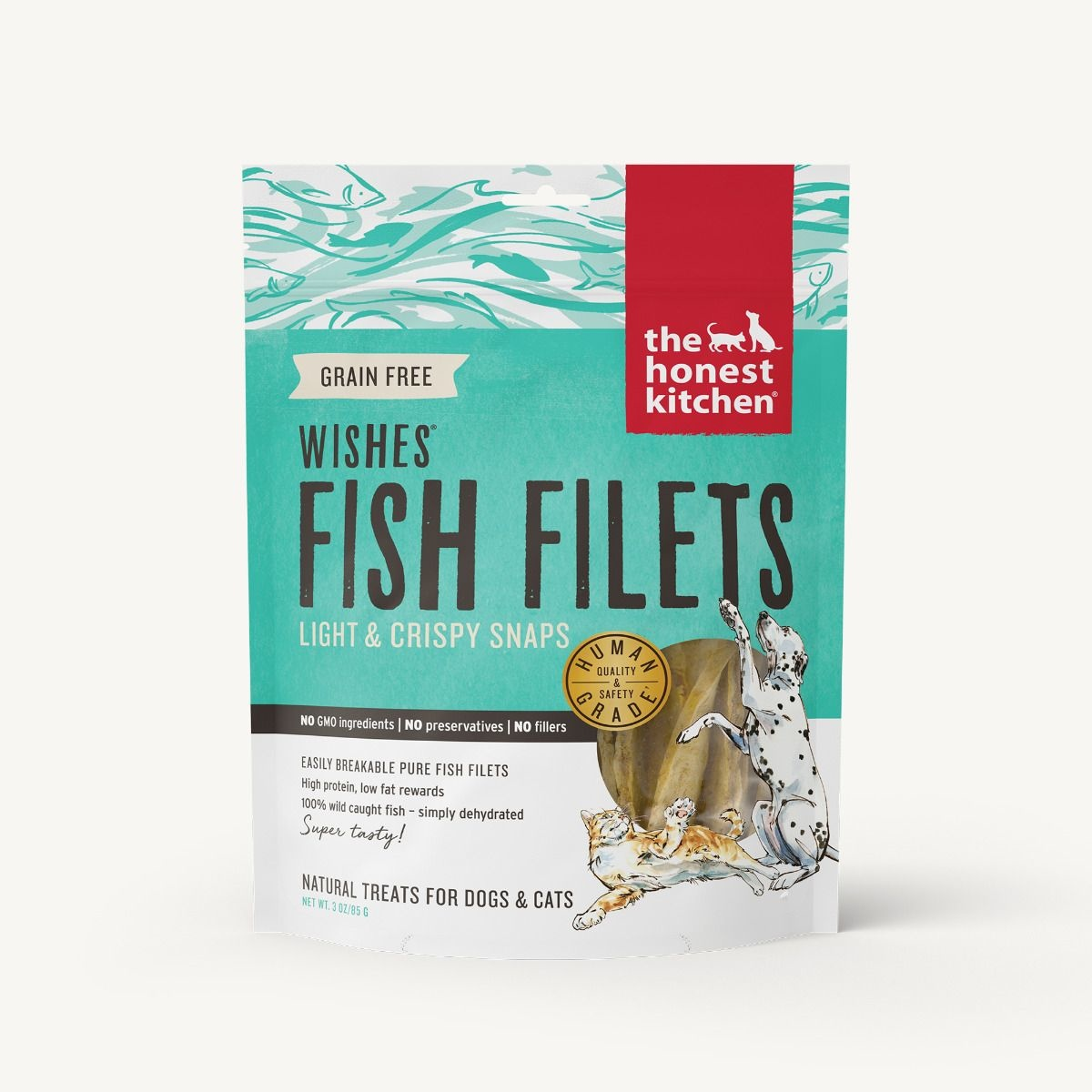The Honest Kitchen Honest Kitchen Wishes Grain Free Fish Fillets 3oz