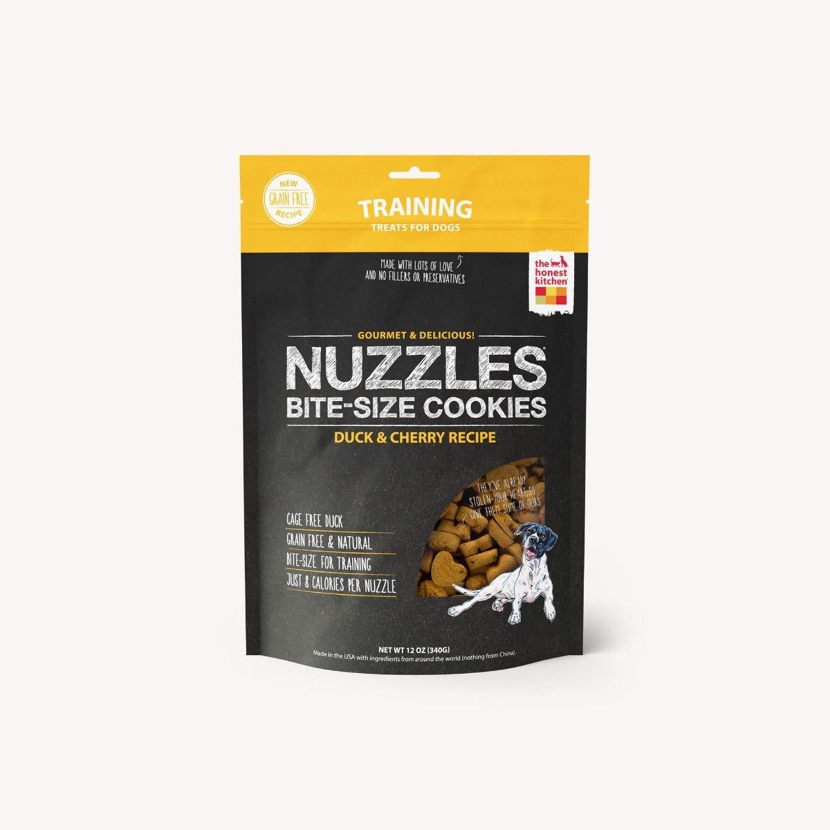 The Honest Kitchen Honest Kitchen Nuzzles Grain Free Duck & Cherry 12oz