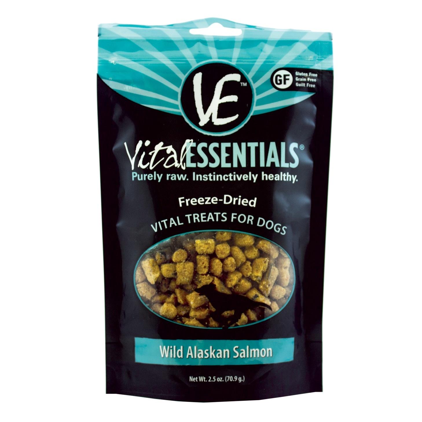 Vital Essentials Vital Essentials Wild Alaskan Salmon Freeze Dried 2.5oz