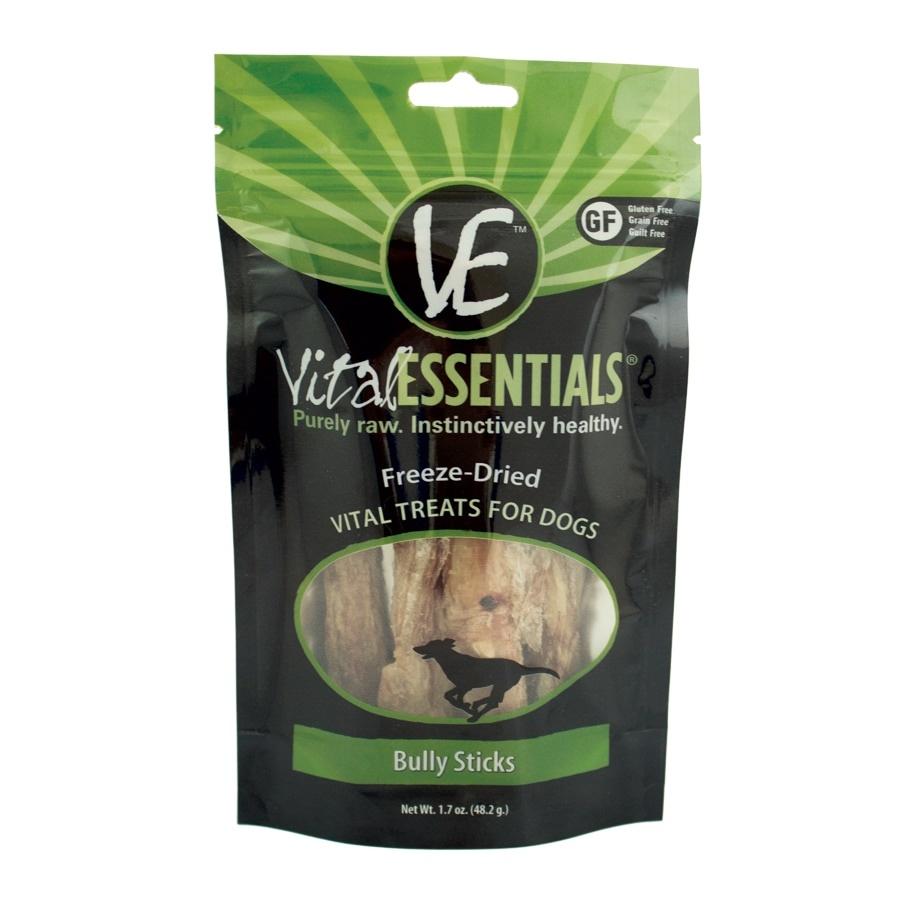 Vital Essentials Vital Essentials Bully Sticks Freeze Dried 5pc
