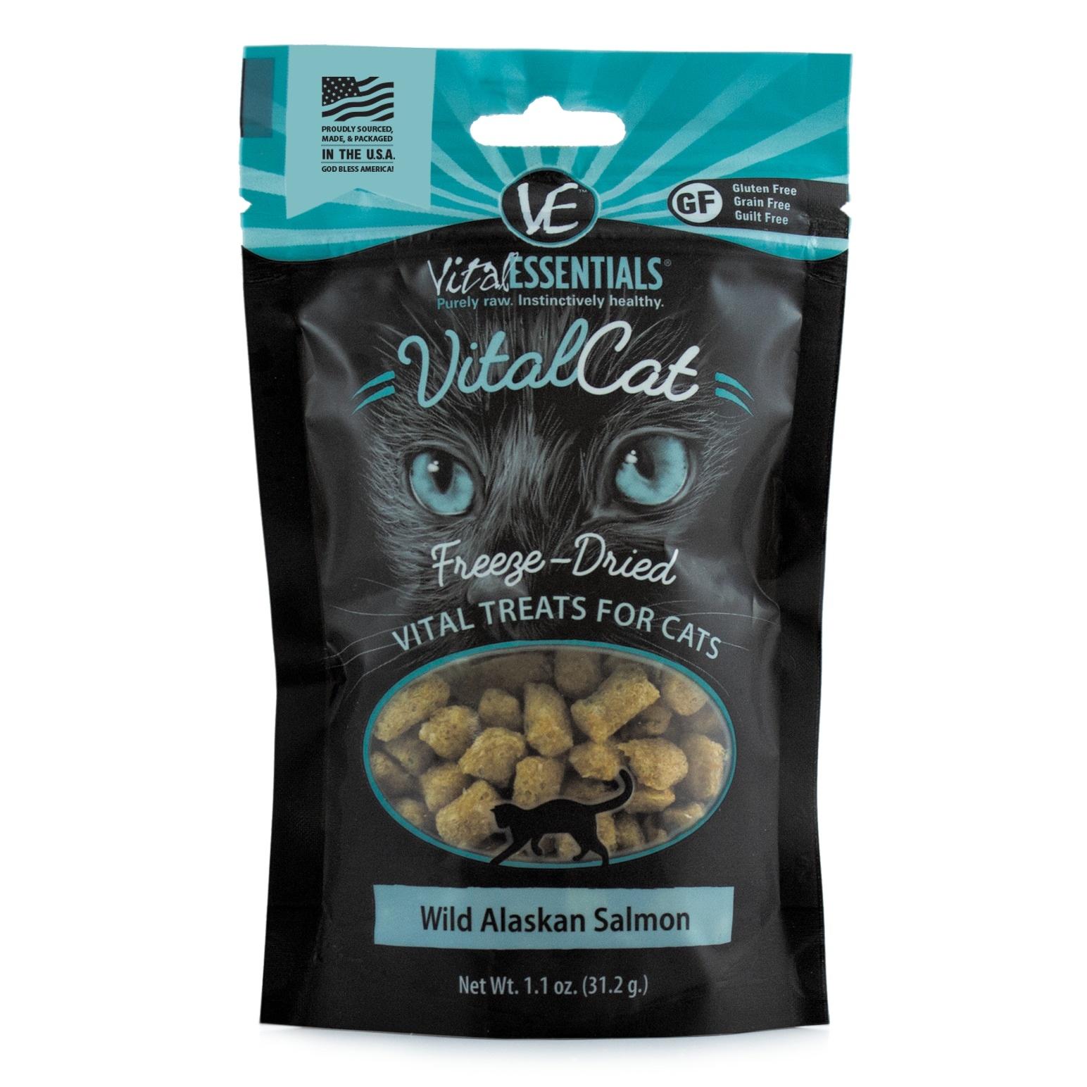 Vital Essentials Vital Essentials Freeze Dried Salmon For Cats 1.1oz