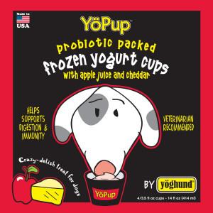 Yoghund Yoghund Apple & Cheddar Natural Yogurt 4pk