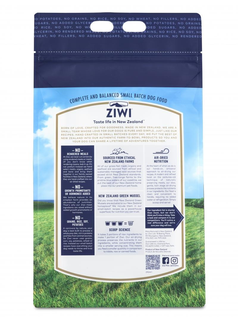 Ziwi Peak Ziwi Peak Air Dried Beef Recipe For Dogs