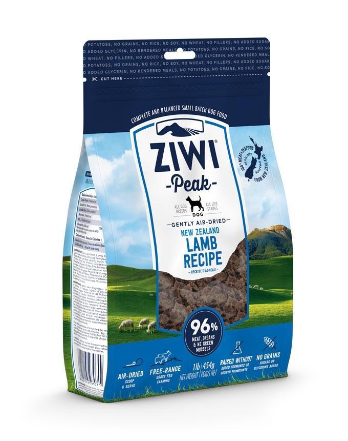 Ziwi Peak Ziwi Peak Air Dried Lamb Recipe For dogs