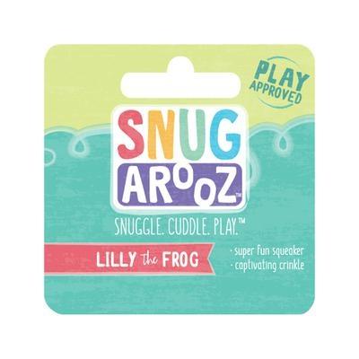 """Snugarooz Pet Toys Snugarooz Lilly The Frog 10"""""""