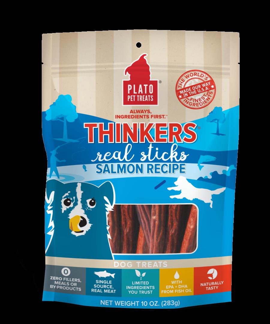 Plato Pet Treats Plato Thinkers Real Sticks Salmon Recipe