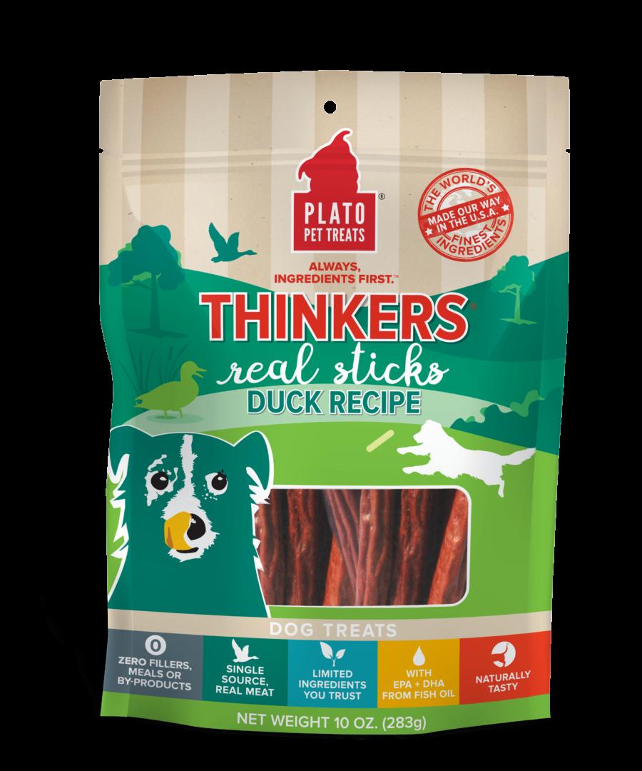 Plato Pet Treats Plato Thinkers Real Sticks Duck Recipe