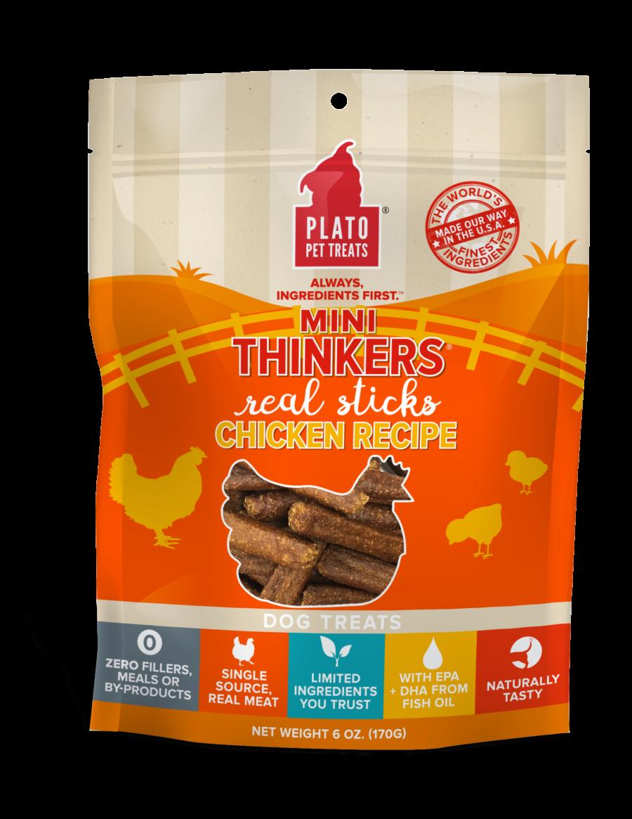 Plato Pet Treats Plato Mini Thinkers Chicken Recipe