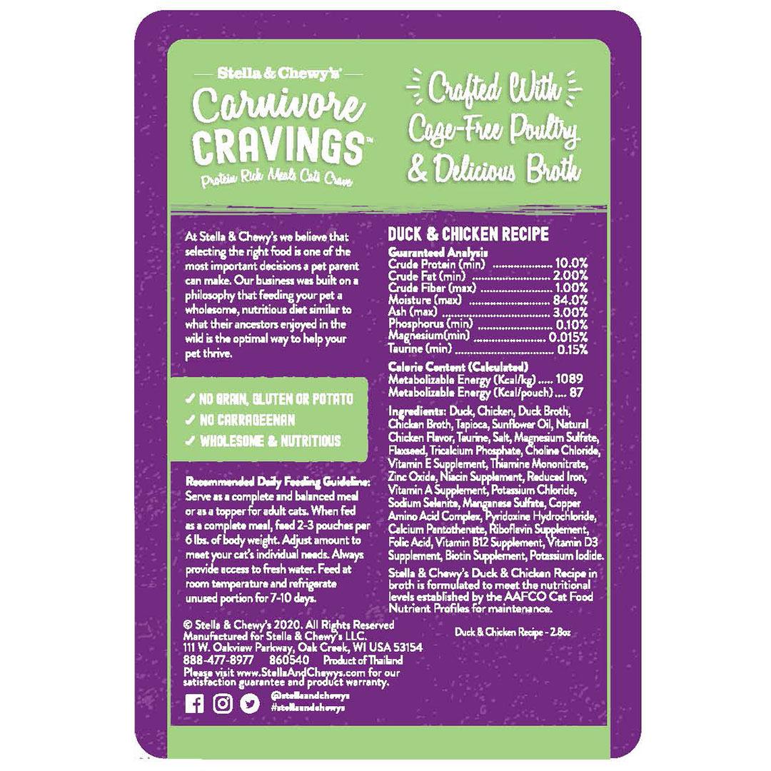 Stella & Chewys Stella & Chewys Carnivore Cravings Duck & Chicken Recipe