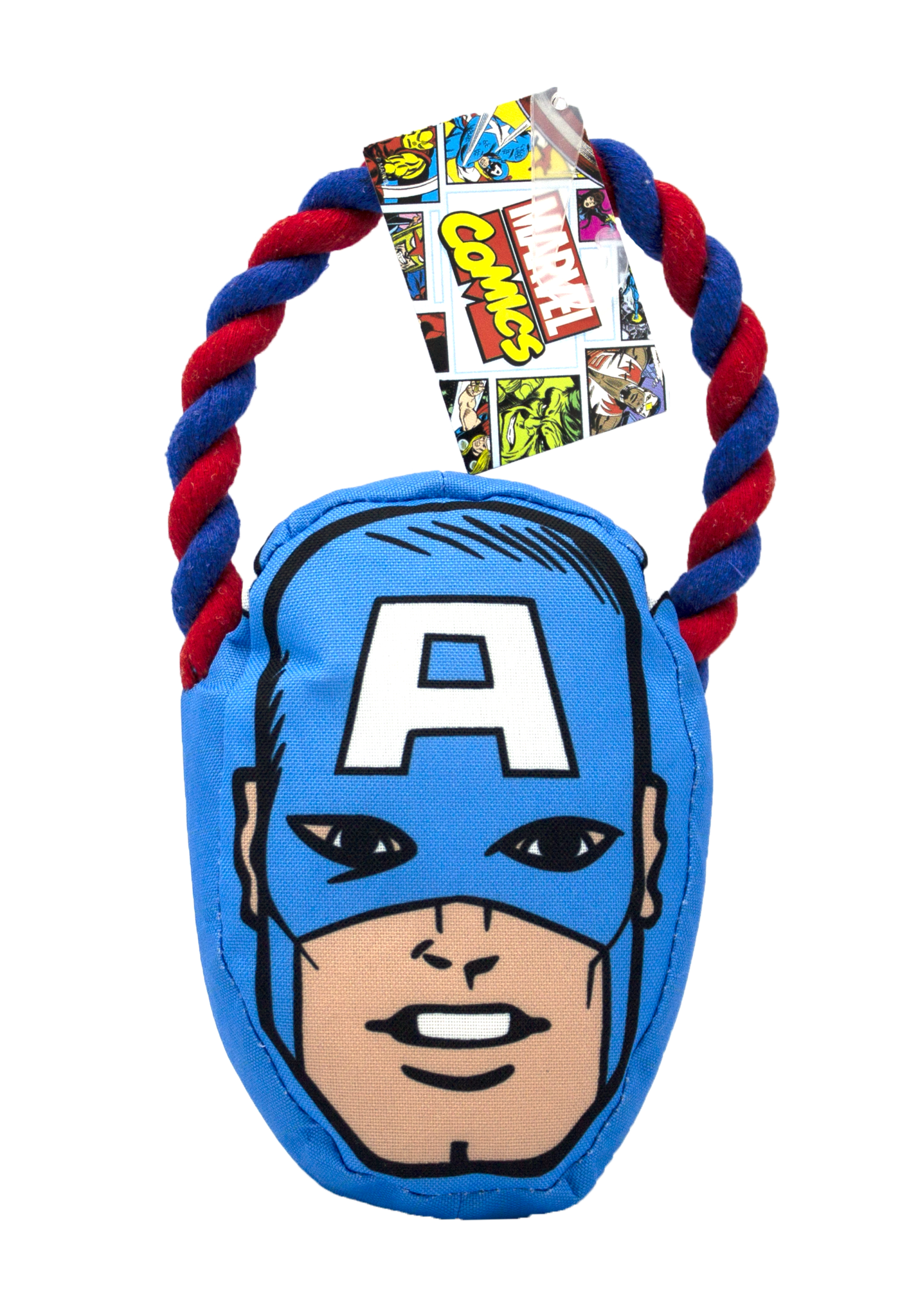 Fetch For Pets Fetch For Pets Marvel Captain America Rope Pull Toy