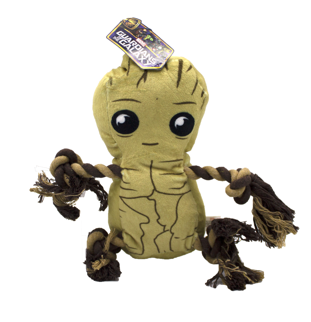 Fetch For Pets Fetch For Pets Marvel Guardians of the Galaxy Groot Rope Buddy Toy