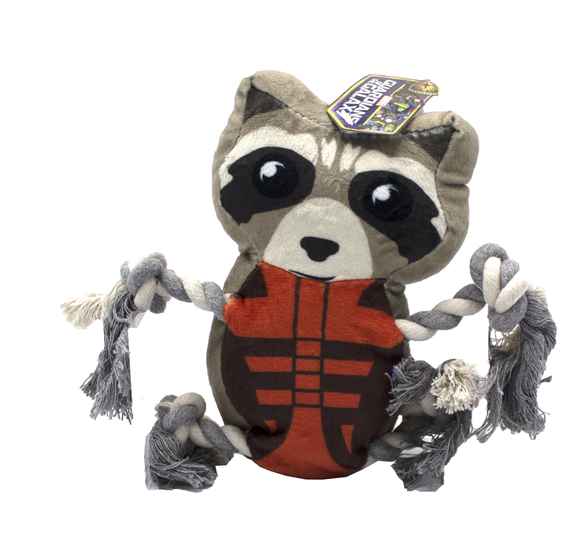 Fetch For Pets Fetch For Pets Marvel Guardians of the Galaxy Rocket Raccoon Rope Buddy Toy